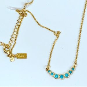 Kate Spade Dainty Sparklers necklace